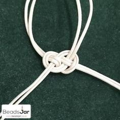 Image result for hemp necklace knots easy donut beads