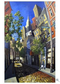 Miguel Freitas, New York city, Broadway and Prince, Limited Edition Giclee print