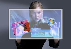 Through Window Touch Screens   Interactive Touch Screen Monitors