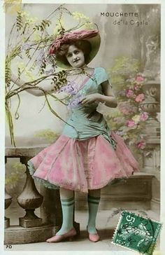 Vintage Postcard by pink petticoats, via Flickr