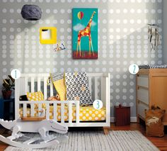 First steps to a toddler room. Saying bye-bye to the nursery doesn't mean saying bye-bye to all your existing furniture and décor. Save money and time by repurposing items you already have.