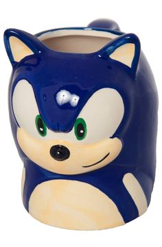 Sonic The Hedgehog Mug: Great For A Very Quick Coffee!