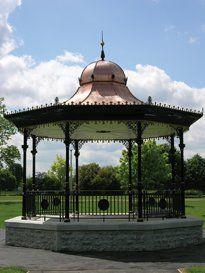 Shelters, Central Park, Pavilion, Gazebo, Picnic, Outdoor Structures, Deck Gazebo, Deck Gazebo, Picnics