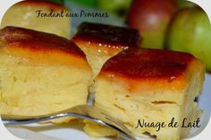 Fondant Rapide aux Pommes (recette Demarle) - NUAGE DE LAIT French Desserts, Apple Desserts, Apple Recipes, Easy Desserts, Sweet Recipes, Candy Recipes, Dessert Recipes, Canned Pears, Desserts With Biscuits