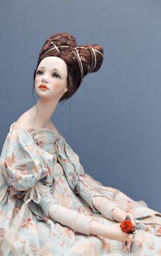 Poppy Parker, Polymer Clay Dolls, Creepy Dolls, Doll Repaint, Doll Maker, Modest Wedding Dresses, Ooak Dolls, Ball Jointed Dolls, Cute Dolls