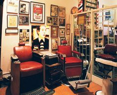 Aidan Gill for Men, NOLA...listed as one of the 16 best barbershops in the U.S.