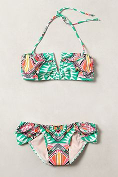 mara hoffman cosmic waters bikini #anthrofav #greigedesign