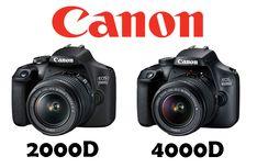 Canon ha deciso di cavalcare l'onda del successo della sua reflex entry level EOS 1300D, la fotocamera reflex di fascia bassa più venduta negli ultimi anni, presentando al mercato ben 2 nuovi modelli reflex accessibili a tutti quanti.Stiamo parlando delle nuove Canon EOS 2000D e Canon EOS 4000D