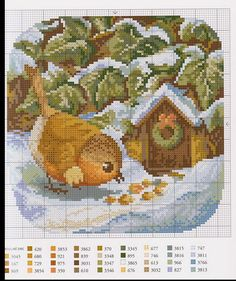 ru / - The album Cross Stitch For Kids, Cross Stitch Bird, Beaded Cross Stitch, Cross Stitch Animals, Cross Stitching, Christmas Embroidery Patterns, Hand Embroidery Stitches, Diy Embroidery, Cross Stitch Embroidery