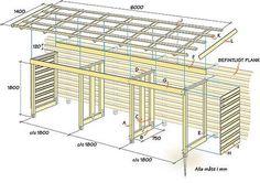 Garden Bike Storage, Backyard Storage, Backyard Sheds, Outdoor Sheds, Grill Gazebo, Pergola, Firewood Shed, Firewood Storage, Bin Store Garden