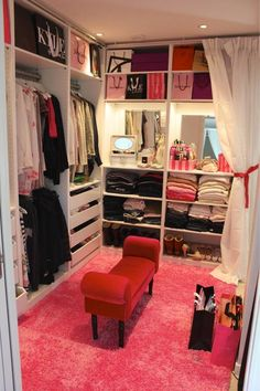 Sooo I was thinking something like this for the unfinished closet in the master bedroom...