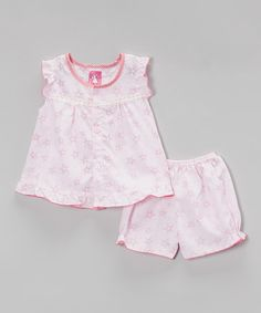 Love this Pink Dress & Diaper Cover - Infant on #zulily! #zulilyfinds