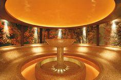 Laconium im VITALIS SPA Hotel Alpenhof, Wellness Spa, Fountain, Relax, Landscape, Outdoor Decor, Mayrhofen, Scenery, Water Fountains