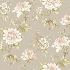 Find wallpaper close-out sale pricing for popular wallpaper patterns online courtesy of Wallpaper Warehouse. Embossed Wallpaper, Wallpaper Roll, Wall Wallpaper, Wallpaper Backgrounds, Retro Wallpaper, Botanical Wallpaper, Flower Wallpaper, Vintage Floral Wallpapers, Wallpaper Warehouse