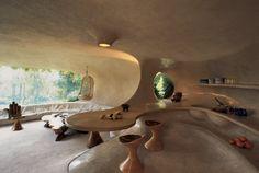 Mexico, this architectural UFO seems timeless. Primitive? Futuristic?