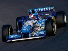 Johnny Herbert - Benetton Renault - B195 - 1995 ...
