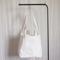 Canvas Shoulder Tote