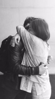 i can't wait till the day i finally get to be in brad's arms and feel his warm, tight hugs