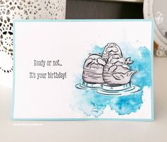 stampin'up we'll walrus be friends , stamping up, stampin up, walrus be friends, copics, blends