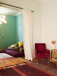 Zid Zid Kids Owneru0027s House In Marrakesh. Photo By Gaëlle Le Boulicaut  Have  Been Wanting To Do A Reading/sitting Room.