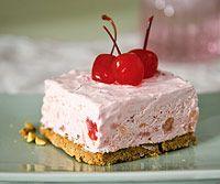Cherry Fluff Valentine Dessert