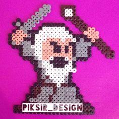 LOTR Gandalf hama beads by piksir_design