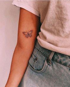 wonderful butterfly tattoo ideas for pretty tattoo lovers 12 ~ my.easy-cook… wonderful butterfly tattoo ideas for pretty tattoo lovers 12 ~ my.easy-cook…,ink wonderful butterfly tattoo ideas for pretty tattoo lovers Little Tattoos, Mini Tattoos, Body Art Tattoos, Tatoos, Tattoo Drawings, Tattoo Sketches, Flower Tattoos, Ribbon Tattoos, Stomach Tattoos
