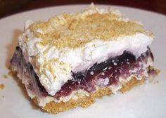 Blueberries and Cream Cheese Dessert