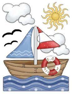 from Japan cat poohcah Backpack Schoolbag kawaii harajuku girl BLACK Nautical Cards, Nautical Baby, Nautical Theme, Nautical Nursery, Room Stickers, Sea And Ocean, Baby Boy Nurseries, Baby Decor, Coastal Decor
