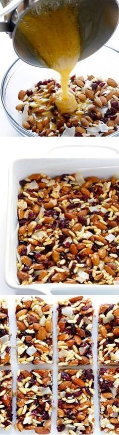 Discover recipes, home ideas, style inspiration and other ideas to try. Low Carb Recipes, Vegan Recipes, Snack Recipes, Cooking Recipes, Healthy Bars, Healthy Desserts, Snacks Saludables, Good Food, Yummy Food