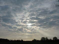 Der Himmel über des Sassenburg