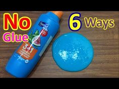 6 NEW DIY NO GLUE SLIME RECIPES YOU HAVE NOT SEEN! MUST WATCH !!! Slime No Glue, No Borax - YouTube