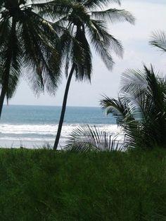 The beach in El Salvador.