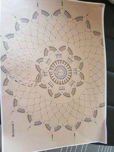 Best 11 Tina's handicraft : & patterns Dreamcatcher & mandala Crochet Mandala Pattern, Crochet Chart, Crochet Squares, Filet Crochet, Crochet Doilies, Crochet Stitches, Crochet Patterns, Crochet Ornaments, Crochet Snowflakes