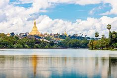 "Yangon, #overwhelming by the #lakes, shady #parks and verdant #tropical #trees. Known as ""Garden of the East"""
