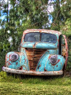 Nice Colors is a photograph by Danny Pickens. Nice colored antique car sitting at a wrecking yard in Uruguay. Source fineartamerica.com