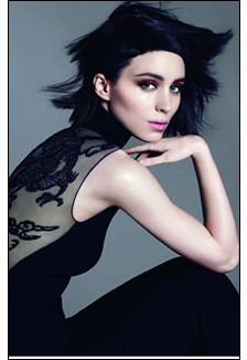 the girl with the dragon tattoo-vogue photoshoot