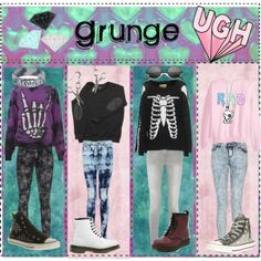 """Grunge ;D"" by gummibearz-7 on Polyvore"