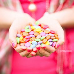bright & colorful candies