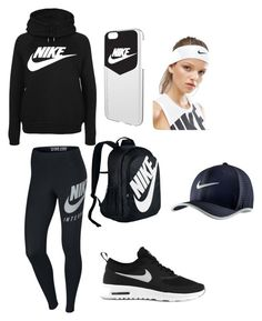 """All Nike stuff"" by mialena1203 ❤ liked on Polyvore featuring NIKE"