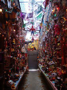 i would love to go experience Dia de los Muertos in mexico