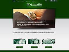 immagine homepage nuovo sito Benfatto Rappresentanze by Holbein & Partners web agency.