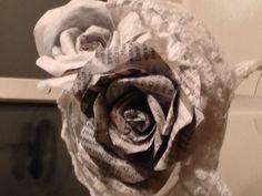 rose newspaper                                              BY SAB creations