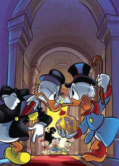 Scrooge McDuck VS John D. Rockerduck