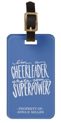 Funny Cheerleader Quote Gift - PERSONALIZED! - cheer, cheerleading, squad, competition, DIY, gifts, ideas, girl, girls, unique, fun, trip, fundraiser