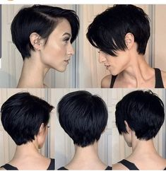 2019 popular short hair style for women, refreshing, good care, sexy, make you look more beautiful and moving frisuren frauen frisuren männer hair hair styles hair women Edgy Short Hair, Short Hair Cuts For Women, Short Hair Styles, Edgy Hair, Dope Hairstyles, Pretty Hairstyles, Pixie Hairstyles, Pixie Cut Blond, Edgy Pixie Cuts