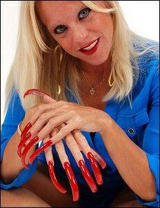 Толстушки буфера длинные ногти — 3