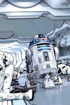 R2 já salvou o dia várias vezes!!