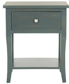 Colby Nightstand, Dark Teal on shopstyle.com