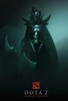 'Even in death, you'll not see beyond the Phantom Veil.' Dota 2 Phantom Assassin by Alladin Sanoy Character Concept, Character Art, Concept Art, Character Design, Dota 2 Heroes, Dota Warcraft, Dota 2 Logo, Dota Game, Dota 2 Wallpapers Hd